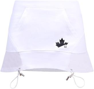 DSQUARED2 Drawstring Hem Mini Skirt