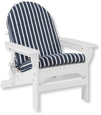 L.L. Bean Casco Bay Adirondack Chair Seat and Back Cushion, Stripe