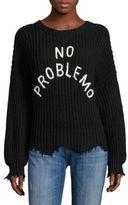 Wildfox Couture No Problemo Rib-Knit Sweater