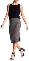 BB Dakota Amarie Sweater Knit Slit Side Skirt