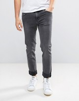 Weekday Friday Skinny Jeans Fatal Grey Wash