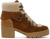 Thumbnail for your product : See by Chloe Tan Eileen Heeled Boots