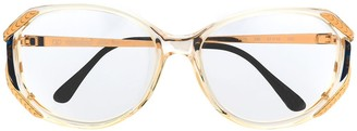 Valentino Pre-Owned 1980's Oversized Glasses