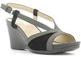 Geox D62P3A 0EK21 Wedge sandals Women Black Black