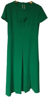 Sofie D'hoore Sofie Dhoore Green Wool Dress for Women