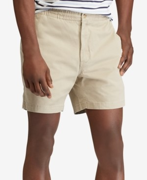 "Polo Ralph Lauren Men's Classic Fit Stretch Prepster 6"" Shorts"
