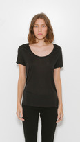 L'Agence Scoop Neck Perfect T