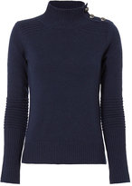 Exclusive for Intermix Belle Button Open Back Sweater