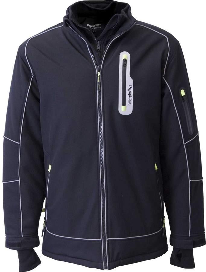 Refrigiwear Men's Extreme Softshell Jacket Black XL