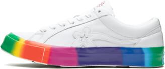 Converse Golf Le Fleur Ox 'Rainbow' Shoes - Size 5