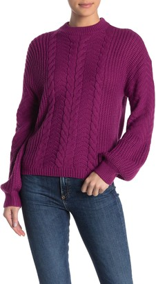 Nordstrom Abound Lofty Cable Knit Sweater