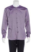 John Varvatos Wing-Collar Dress Shirt
