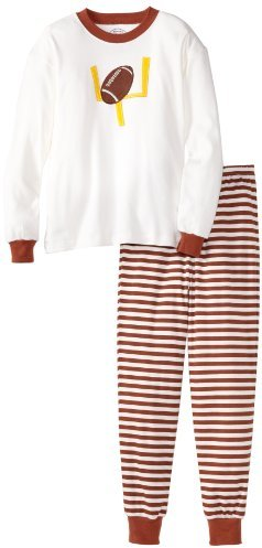 Sara's Prints Big Boys' Pajama With Rib Cuff And Neckband