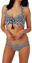 Seafolly Modern Geometry Soft Cup Halter Bikini Top