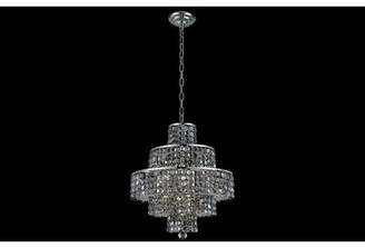 Chrome Crystal Chandelier Shop The World S Largest Collection Of Fashion Shopstyle