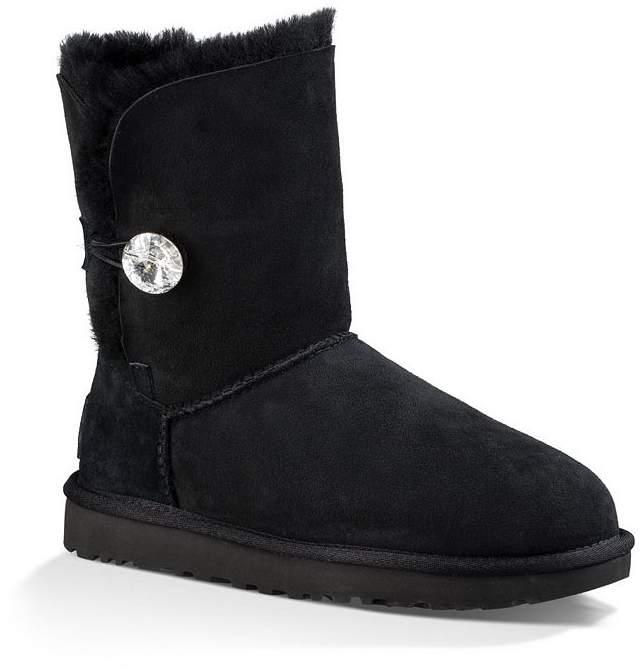 UGG Bailey Button Bling Sheepskin Boots