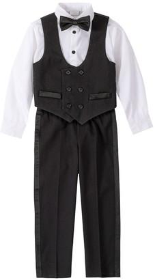 Van Heusen Boys 4-20 Formal Tuxedo 4-Piece Vest Set