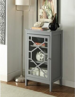 Linon Drake Grey Small Cabinet