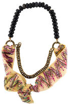 Lizzie Fortunato Bow & Bead Necklace