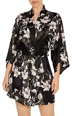 Midnight Bakery Printed Wrap Robe