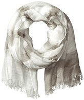 D&Y Women's Stripe Print Oblong Scarf