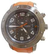 Hermes Clipper Divers Chronograph Titanium & Rubber 44mm Watch