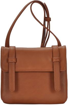 Antik Kraft Flap Faux Leather Crossbody Bag