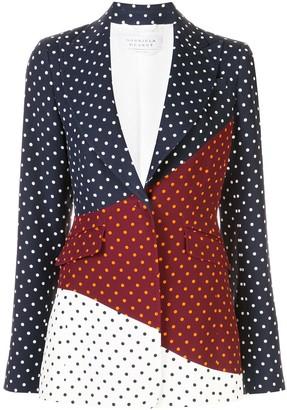 Gabriela Hearst Alain patchwork blazer