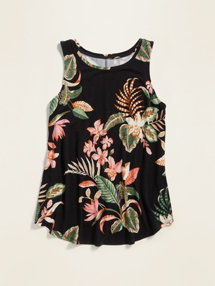 Old Navy Luxe Printed Tank Top for Women