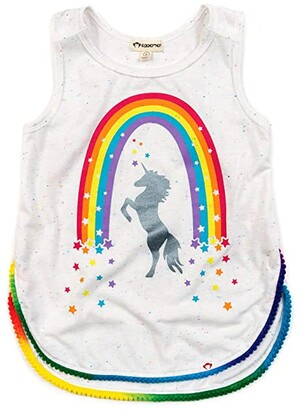 Appaman Adaptive Kids Adaptive Morgan Tank (Little Kids/Big Kids) (Stardust Prism) Girl's Clothing