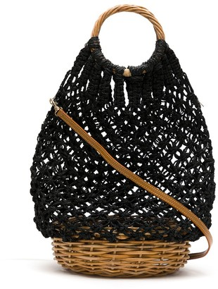 Serpui Marie Macrame Bucket Bag