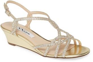 Nina Fancie Embellished Sandal