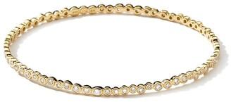 Ippolita 18kt yellow gold Stardust Starlet diamond bangle