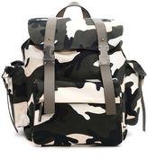 Valentino Garavani 'unfinished' Camouflage Backpack
