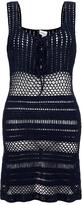 Lisa Maree Lets Fly Away Crochet Deep Navy Dress