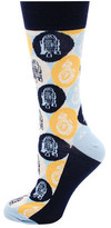 Cufflinks Inc. R2D2 and BB-8 Pop Art Socks