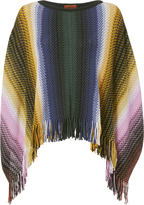 Missoni Multi-Stripe Poncho