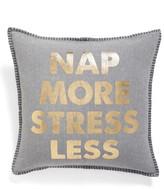 Levtex Nap More Stress Less Accent Pillow