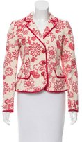 Moschino Cheap & Chic Moschino Cheap and Chic Floral Jacquard Blazer