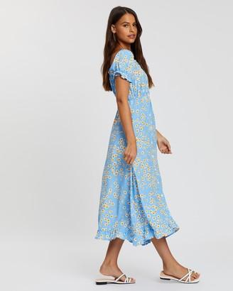 Faithfull The Brand Ina Midi Dress