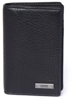 Hugo Element B Black Textured Leather Card Case