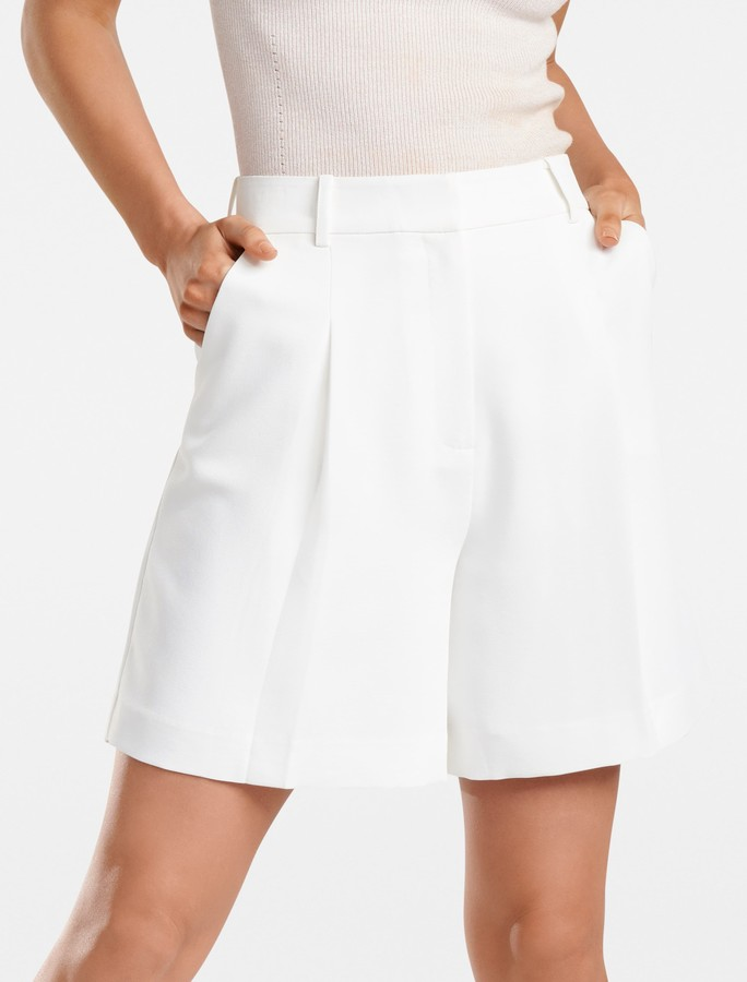 Forever New Laila City Suit Short - Porcelain - 6