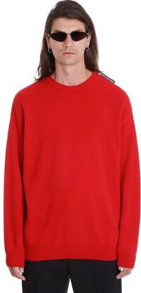 Balenciaga Knitwear In Red Wool
