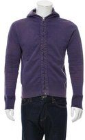 Tim Hamilton Hooded Zip-Front Sweater