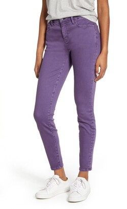 WASH LAB Mid Rise Skinny Jeans