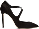 Jimmy Choo Davos 100mm suede pumps