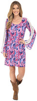 Rock and Roll Cowgirl Bell Sleeves Dress 18-6718