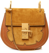 Chloé Drew small suede and leather cross-body bag