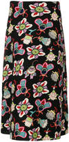 Valentino Popflowers print skirt