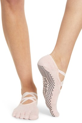 Toesox Elle Full Toe Gripper Socks
